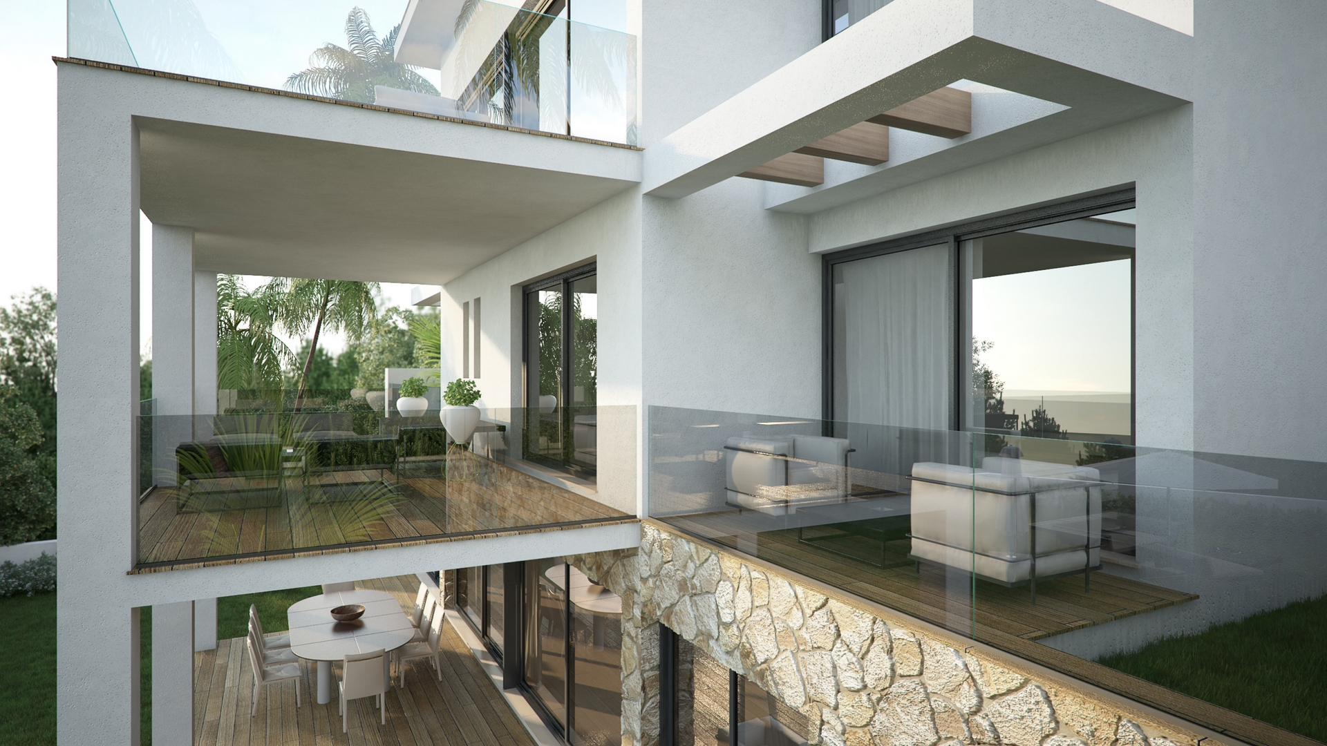 Villas la cala hills parcelas xia y xib mijas - Proyectos casas unifamiliares ...